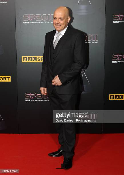 British cycling's performance director David Brailsford arriving for the Sports Personality of the Year Awards 2011 at MediaCityUK Salford Manchester