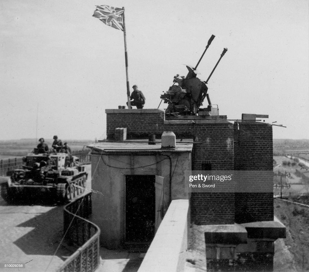 British Defensive Position France
