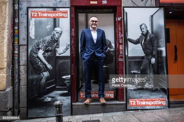 British director Danny Boyle atttends the 'T2 Trainspotting photocall at 'La Via Lactea' Pub on February 2 2017 in Madrid Spain