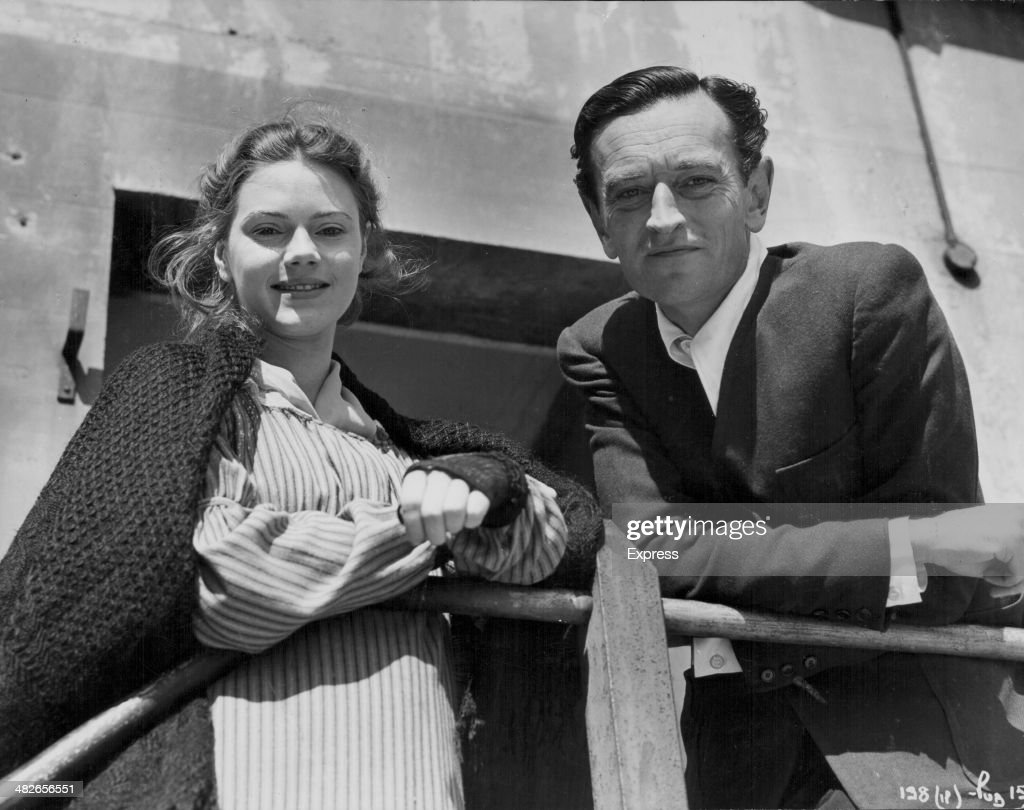 david lean on set pictures getty images british director david lean and actress josephine stuart on the set of the film oliver