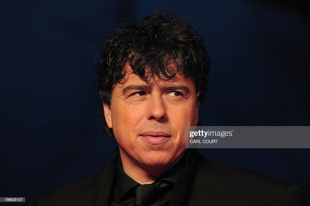 British director Sacha Gervasi poses on the red carpet as he arrives for the UK film premiere of 'Hitchcock' in central London on December 9, 2012.
