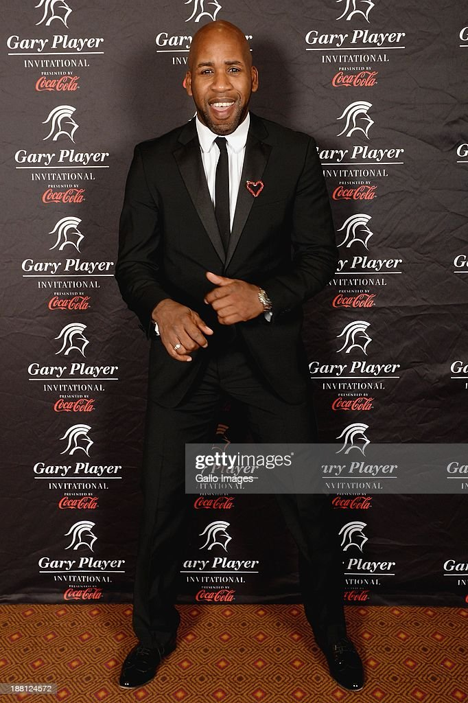 British DJ Spoony (Jonathan Joseph) attends the the Gala Dinner and Charitable Auction of the Gary Player Invitational presented by Coca-Cola at Sun City Convention Centre on November 15, 2013 in Sun City, South Africa.