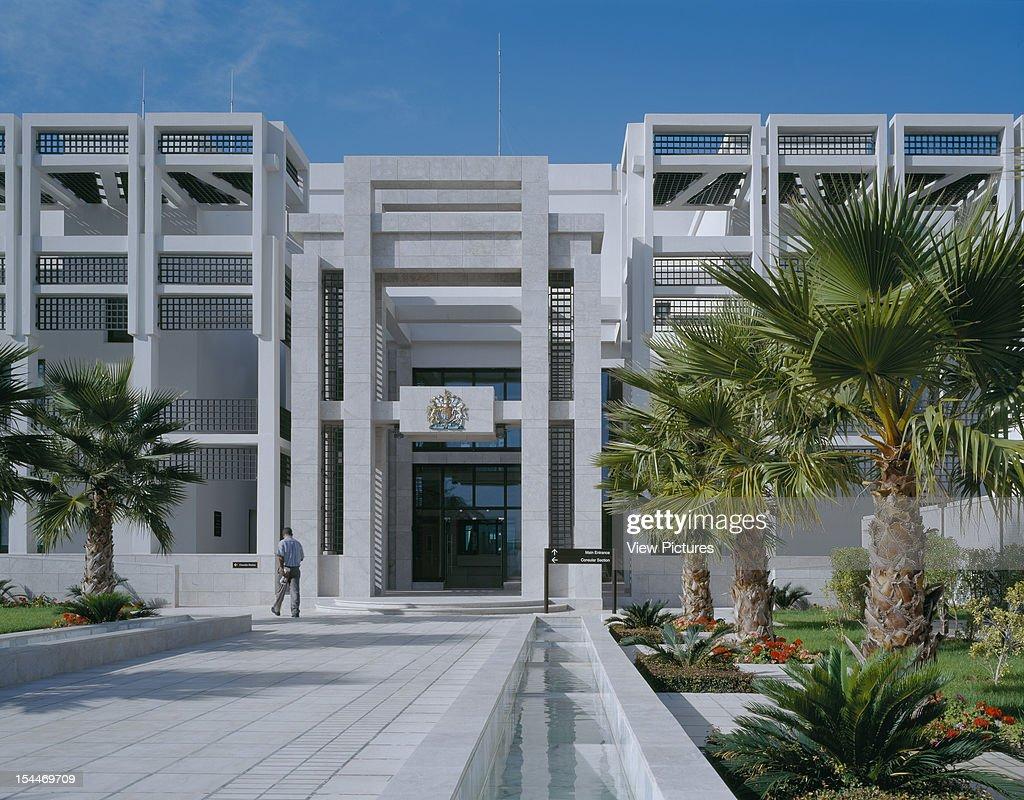 British Embassy Tunis Tunisia Architect Fandc Office Andy