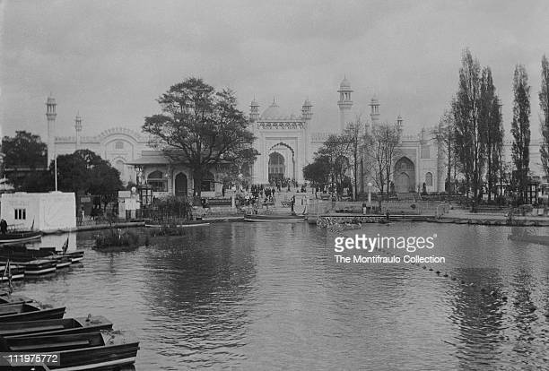 British Empire Exhibition Wembley Middlesex England opened by King George V on St George's Day 23rd April 1924 image shows the Indian Pavilion from...