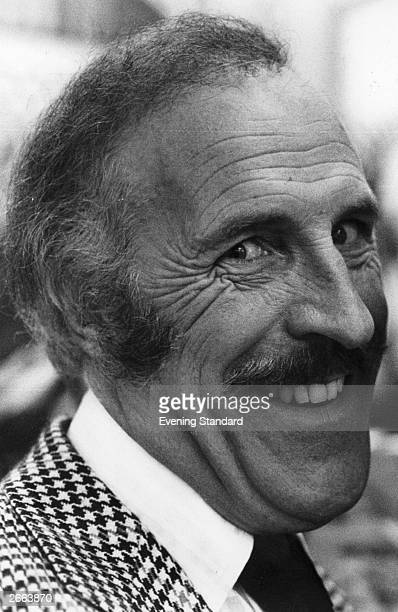 British entertainer and television presenter Bruce Forsyth