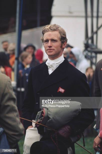British equestrian Richard Meade pictured during his participation in the threeday eventing competition at Burghley Horse Trials at Burghley House...