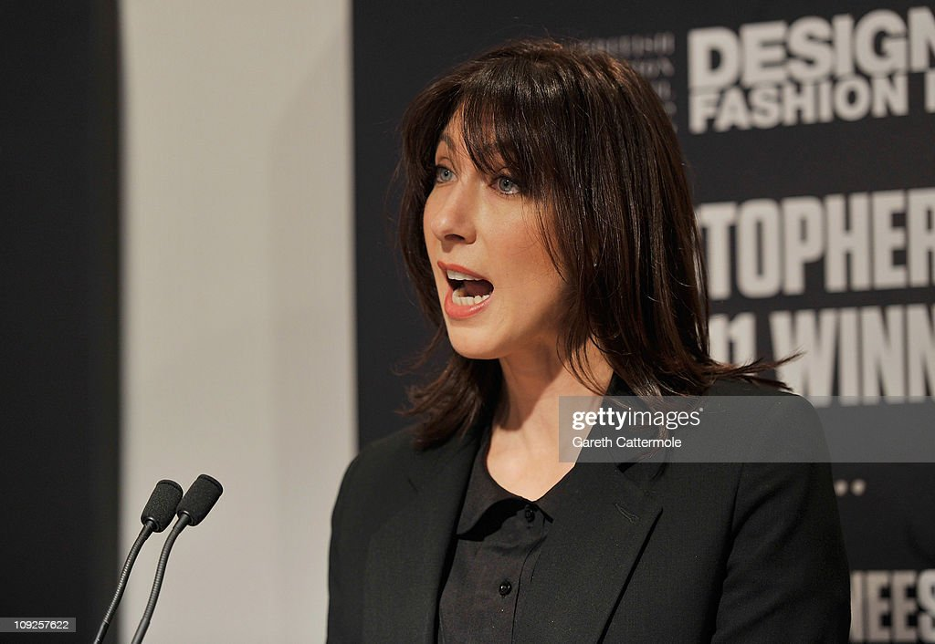 British Fashion Council Ambassador Samantha Cameron officially opens London Fashion Week Autumn/Winter 2011 at Somerset House on February 18, 2011 in London, England.