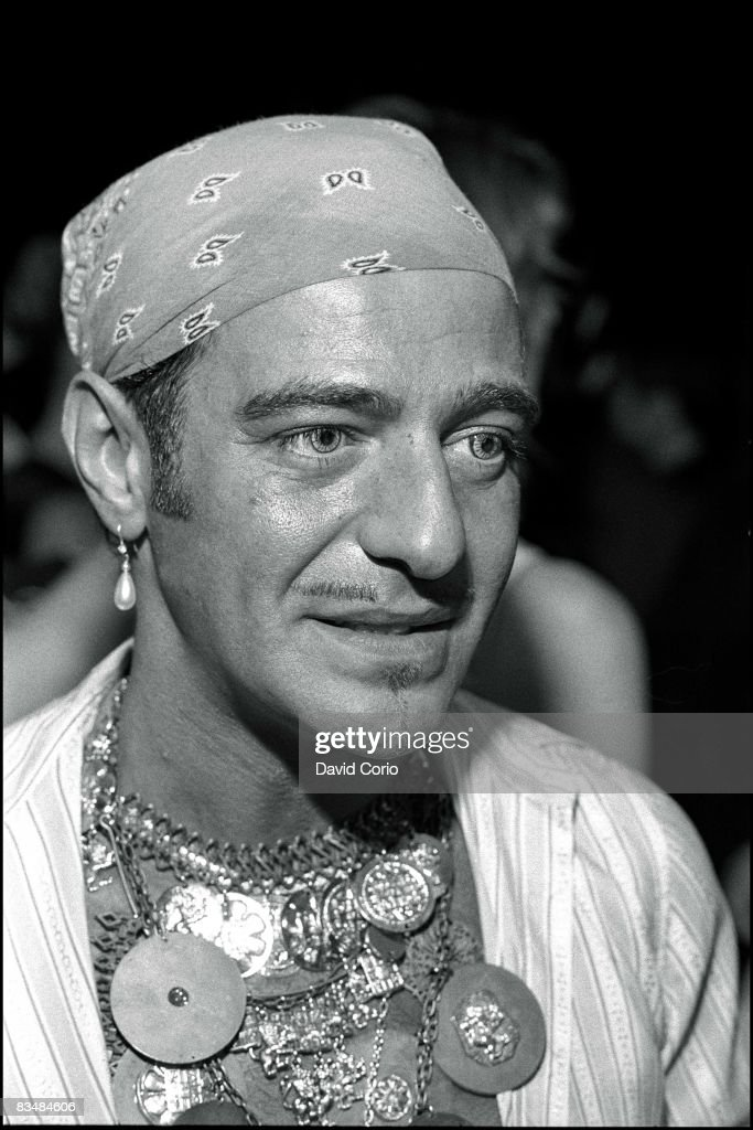 British fashion designer John Galliano attends a reception at Saks 5th Avenue on September 9 1996 in New York City New York