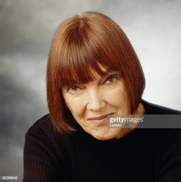 British fashion designer Mary Quant photographed in the Studio on 13th January 1997