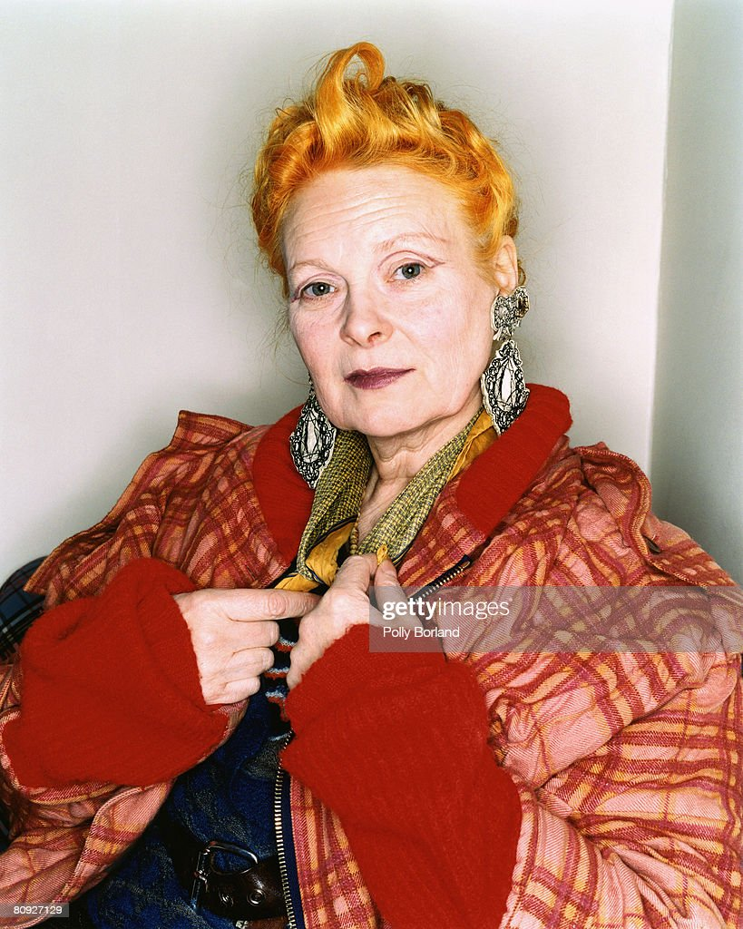 British fashion designer Vivienne Westwood London 26th March 2003