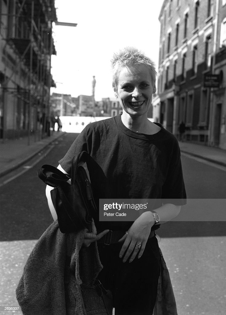 British fashion designer Vivienne Westwood outside Bow Street Magistrate's Court, where she is facing a Breach of Peace case.