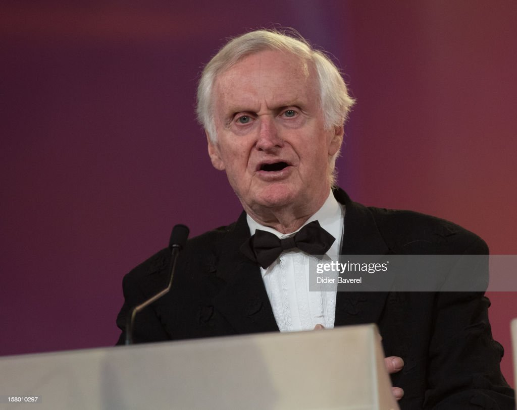 British film director, jury president, <a gi-track='captionPersonalityLinkClicked' href=/galleries/search?phrase=John+Boorman&family=editorial&specificpeople=213769 ng-click='$event.stopPropagation()'>John Boorman</a> speaks at the closing ceremony at 12th International Marrakech Film Festival on December 8, 2012 in Marrakech, Morocco.