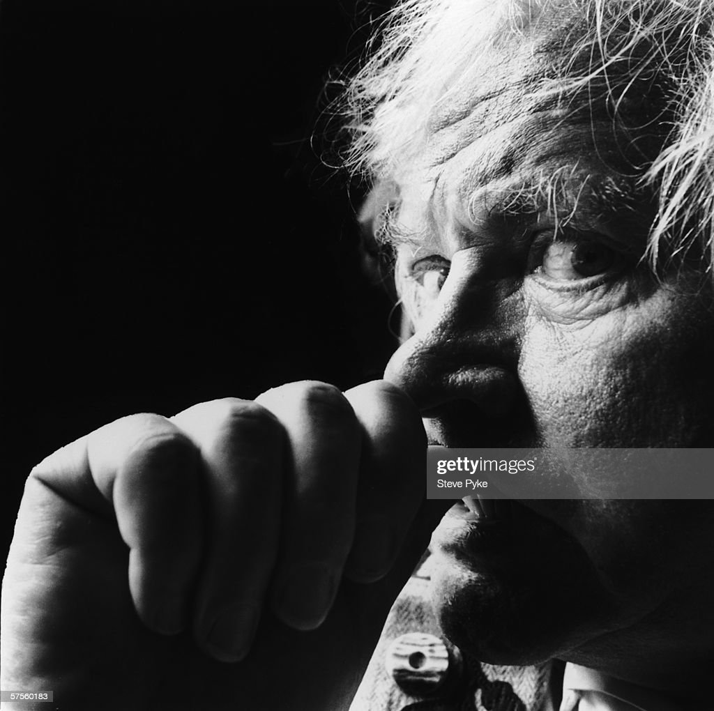 British film director Ken Russell, 1988.