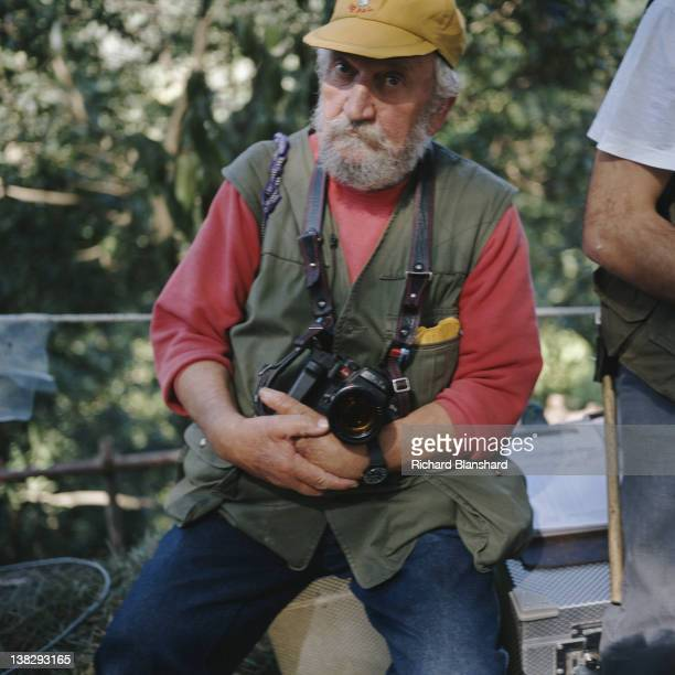 British film director Mike Leigh circa 1995