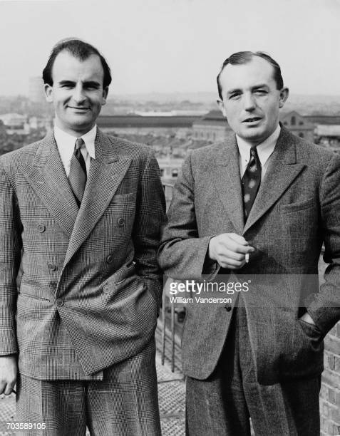 British filmmakers Frank Launder and Sidney Gilliat 15th August 1940