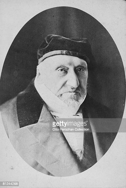 British financier philanthropist and Jewish leader Sir Moses Montefiore 1867