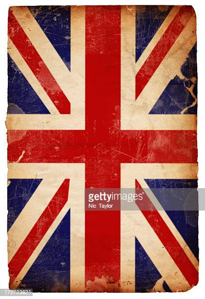 British Flag Grunge XXXL