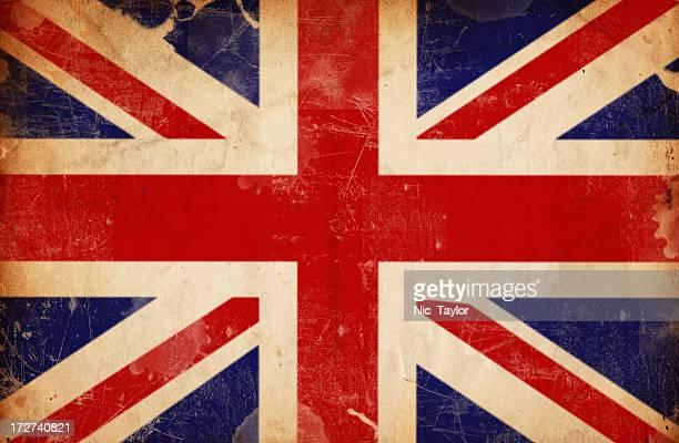 Britische Flagge Grunge XXXL