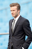 British football player David Beckham visits Beijing Guo'an Football Club at Workers Stadium on March 21 2013 in Beijing China David Beckham is on a...