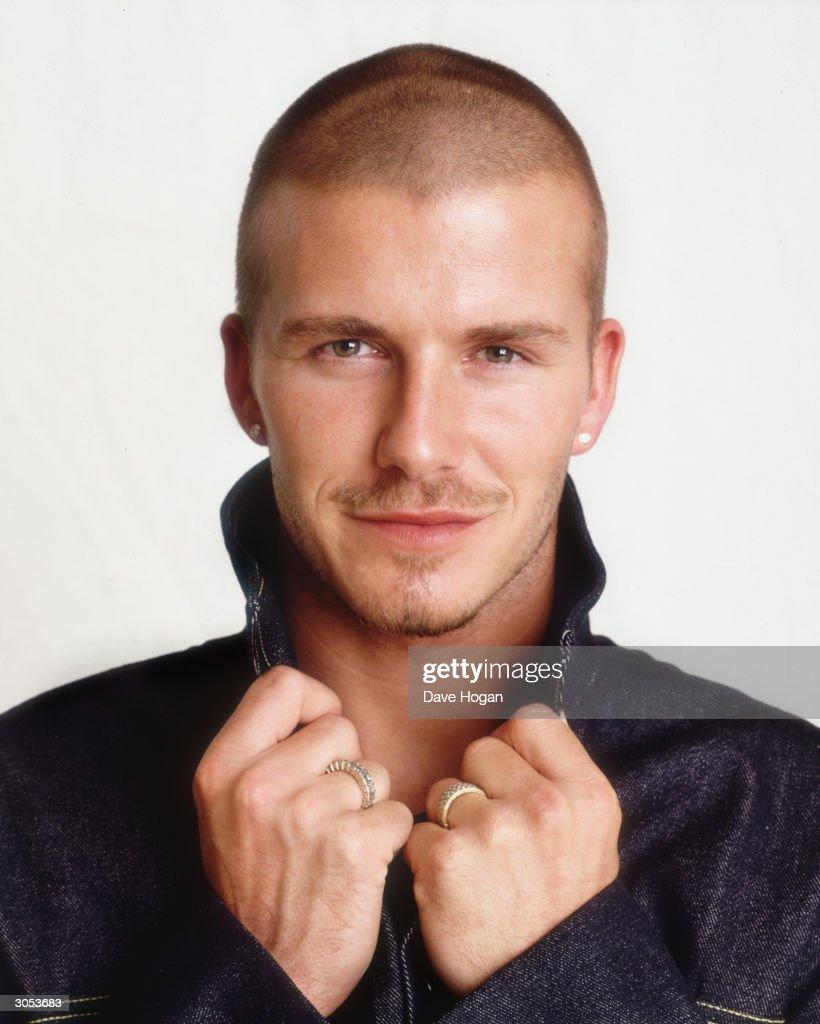 British footballer David Beckham, circa 2000.