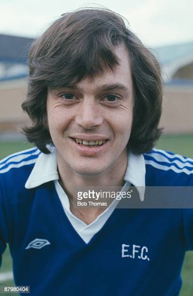 British footballer Duncan McKenzie of Everton FC circa 1977