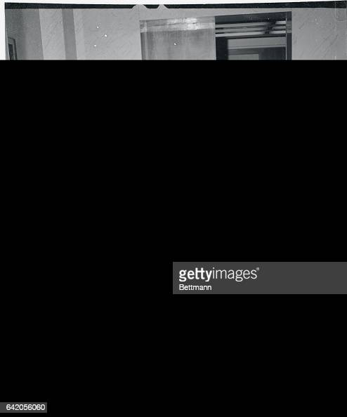 British Foreign Secretary Anthony Eden and French Premier Pierre MendesFrance walk from the airport after Eden's arrival for a conference aimed at...