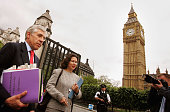 British Foreign Secretary Jack Straw arrives at the Houses of Parliament June 6 2005 in London England Mr Straw is expected to make a statement to...