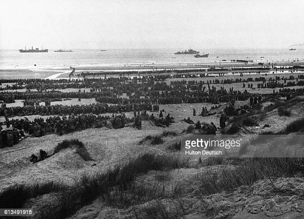 Dunkirk Beach At The Evacuation May 1940