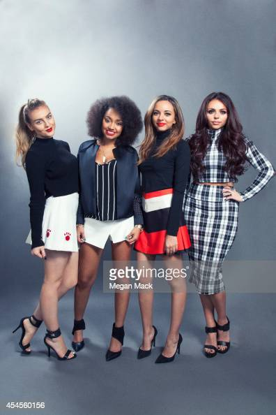 British girl group Little Mix is photographed for Billboard Magazine on March 11 2014 in New York City