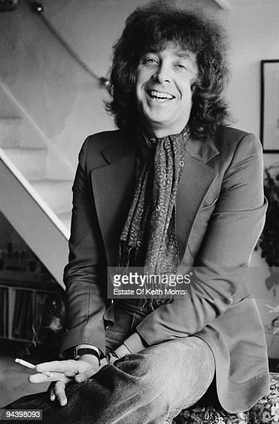British guitarist Bob Johnson of electric folk band Steeleye Span circa 1977