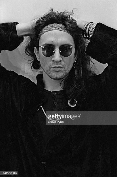 British guitarist singer and songwriter Wayne Hussey of gothic rock band The Mission and previously of The Sisters of Mercy 15th February 1987