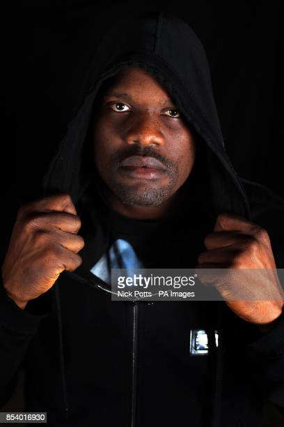 British Heavyweight boxer Dereck Chisora following a press conference at the Landmark Hotel London