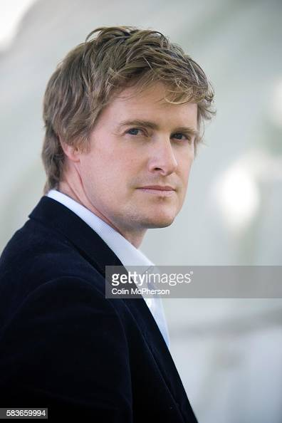 British historian and television presenter Tristram Hunt at the Edinburgh International Book Festival where he talked about his new work on Friedrich...