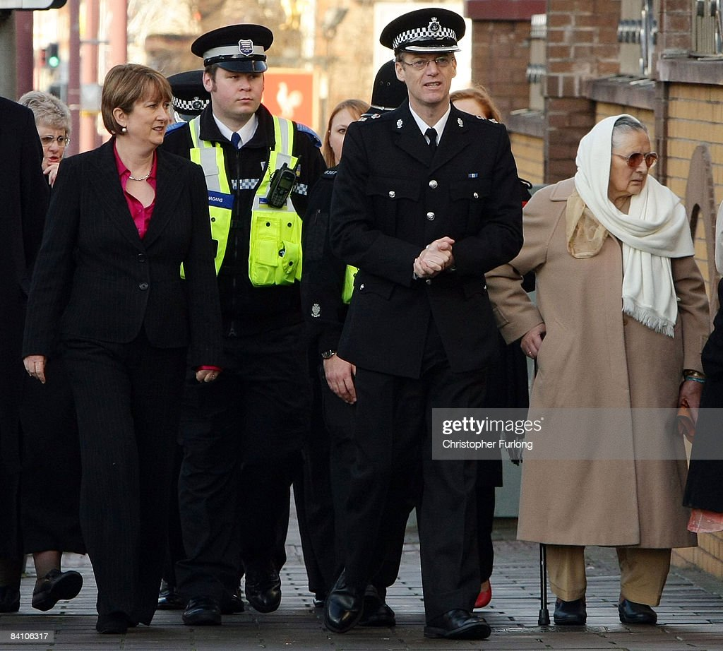 jacqui smtih visits frontline police officers photos and images