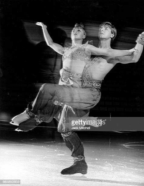 British Ice Dancers Torvil and Dean 1986 Photo by Jack Mitchell/Getty Images