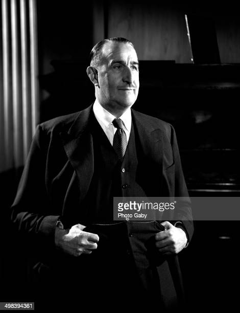 British industrialist and film producer J Arthur Rank London 1955