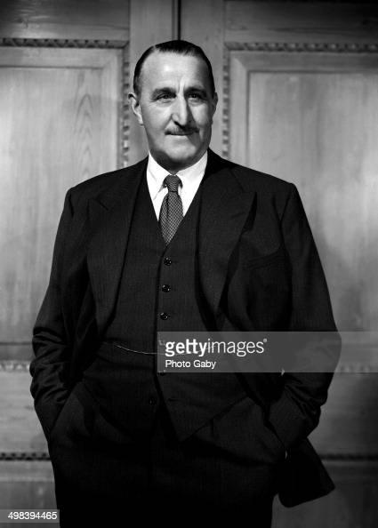 British industrialist and film producer J Arthur Rank London 1955
