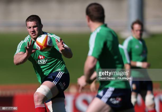 British Irish Lions Sean O'Brien during the training session at the North Sydney Oval Sydney in Australia