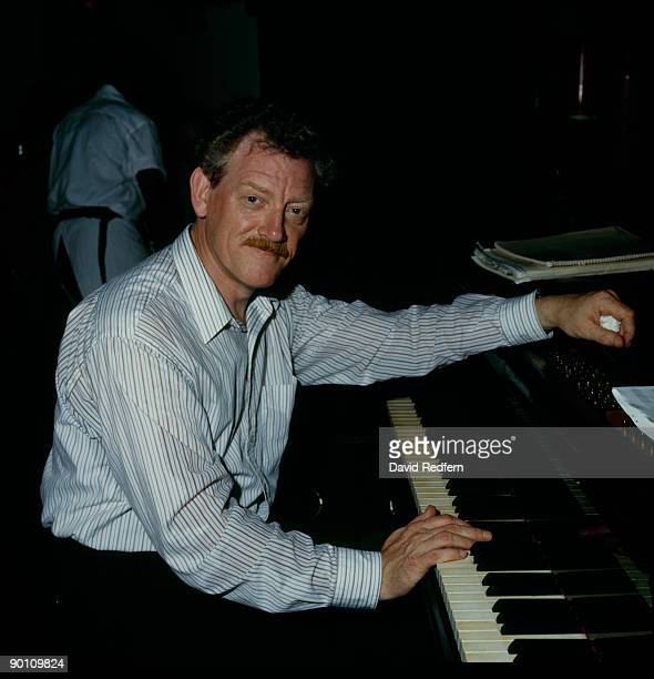 British jazz pianist John Taylor circa 1980