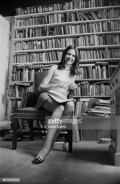 British journalist Joan Bakewell UK 15th April 1970