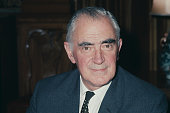British Labour Party politician and Foreign Secretary Michael Stewart pictured soon after being appointed in April 1968