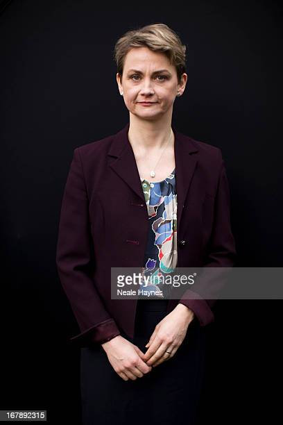British Labour Party politician Yvette Cooper is photographed for Grazia UK on February 6 2013 in London England