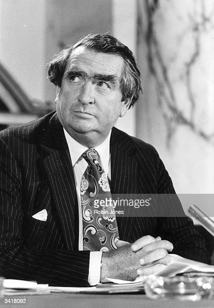 British Labour politician Denis Healey Chancellor of the Exchequer