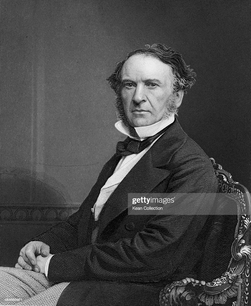 British Liberal politician and four-time Prime Minister <a gi-track='captionPersonalityLinkClicked' href=/galleries/search?phrase=William+Ewart+Gladstone&family=editorial&specificpeople=213565 ng-click='$event.stopPropagation()'>William Ewart Gladstone</a> (1809 - 1898), circa 1870. Engraved by Holl from a photograph by Mayall.