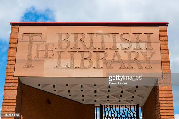 British Library, London, England, UK