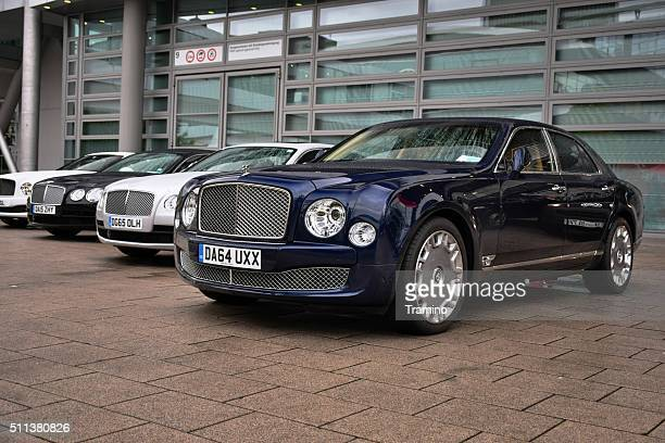 British limousines in a row