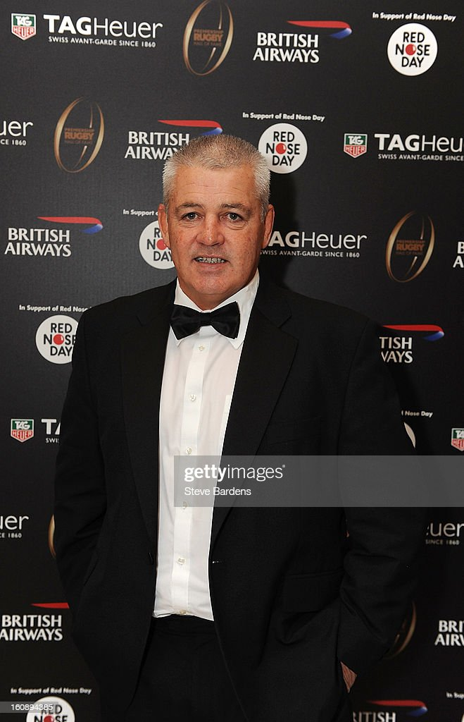 British Lions Coach Warren Gatland during the inaugural Premiership Rugby Hall of Fame Ball at the Hurlingham Club on February 7, 2013 in London, England.