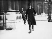 British Lord Privy Seal Lord Edward Halifax arriving at the Foreign Office Whitehall London 12th March 1936 to discuss the situation in the Rhineland...
