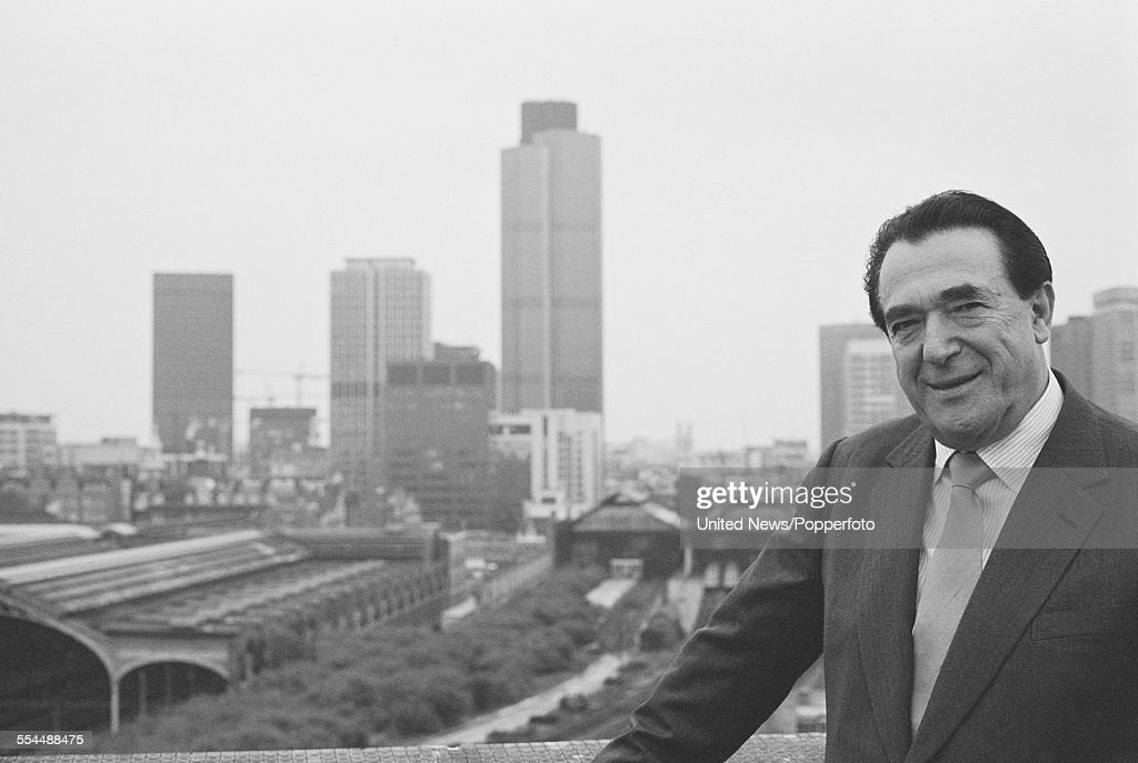 Robert Maxwell Getty Images