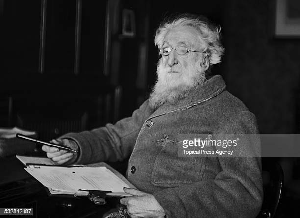 British Methodist preacher William Booth founder of The Salvation Army 1909
